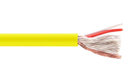 Кабель микрофонный в нарезку Belsis BW7823 Yellow