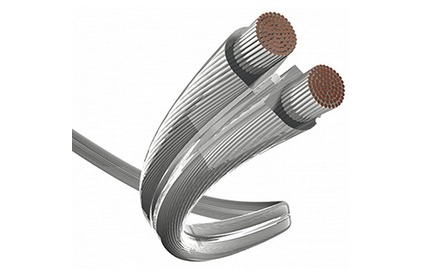 Отрезок акустического кабеля Inakustik (Арт. 348) 0040214 Premium Silver 4.0 1.9m