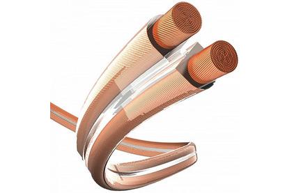 Отрезок акустического кабеля Inakustik (Арт. 382) 004021 Premium Cuprum Transparent 1.5 6.75m