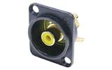 Терминал RCA Neutrik NF2D-B-4 Yellow