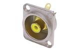 Терминал RCA Neutrik NF2D-4 Yellow