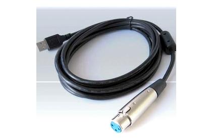 Кабель аудио XLR - USB Invotone UC104 4.0m