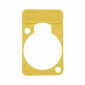 Аксессуар для разъема Neutrik DSS-4 Yellow