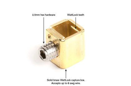 Разъем IEC C15 Wattgate 320 evo Black