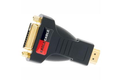 Переходник HDMI - DVI Eagle Cable 3081371 DELUXE HDMI (M) - DVI (F) Adaptor