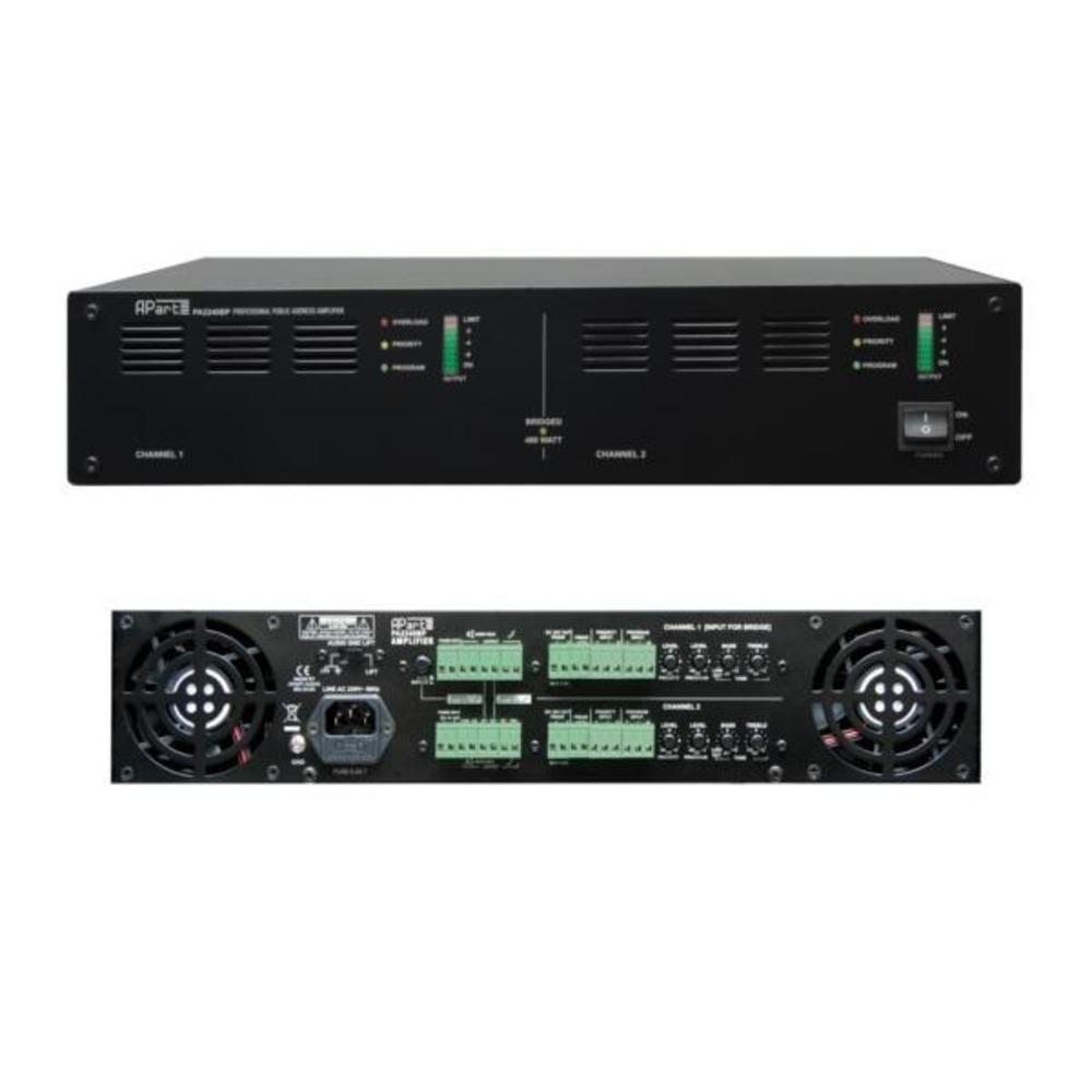 Усилитель трансляционный вольтовый Apart PA2240BP