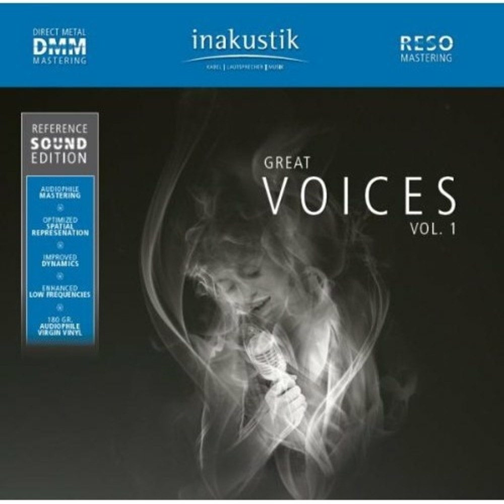 Компакт-диск Inakustik 0167501-1 Great Voices (HQCD)