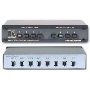 Матричный коммутатор 4:4 сигналов Firewire Kramer VS-4X4FW