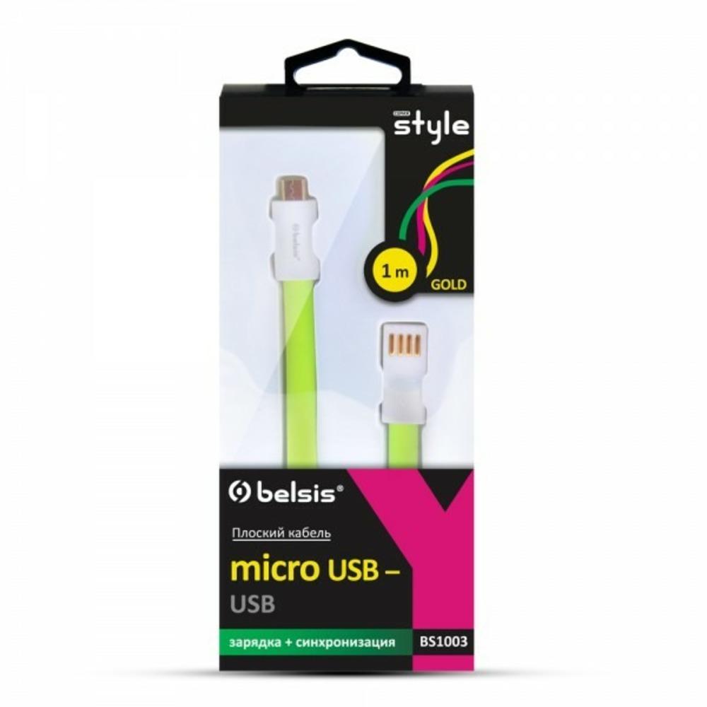 Кабель USB 2.0 Тип A - B micro Belsis BS1003 1.0m