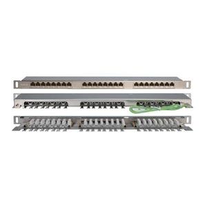 Патч-панель для рэкового шкафа Hyperline PPHD-19-24-8P8C-C6-SH-110D