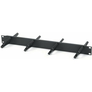 Кабельная гребенка для рэкового шкафа Hyperline CM-1U-PL-DBL
