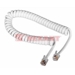 Кабель телефонный патч-корд Rexant 18-2021 витой белый (1 штука) 2.0m