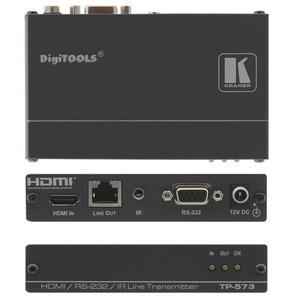 Передатчик сигнала HDMI, данных и сигналов ИК-управления по витой паре Kramer TP-573