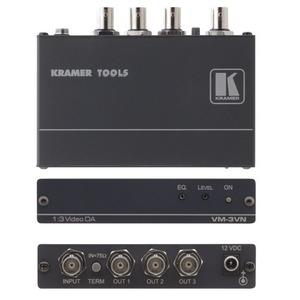 Усилитель-распределитель Компонентное видео и аудио Kramer VM-3VN