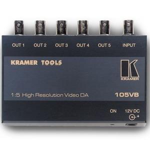 Усилитель-распределитель Компонентное видео и аудио Kramer 105VB