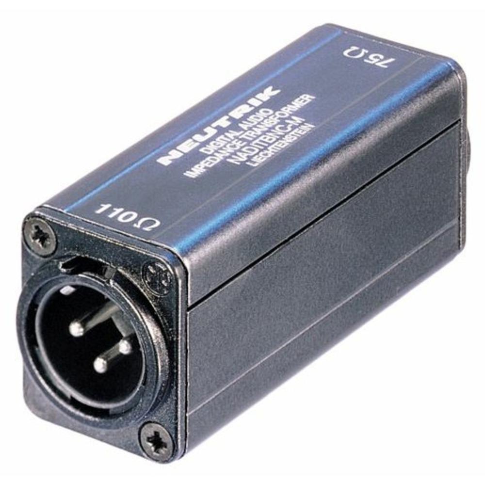 Переходник BNC - AES/EBU Neutrik NADITBNC-M