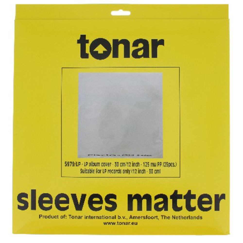 Антистатический конверт Tonar 5317 45 RPM Record Outer Sleeves 7