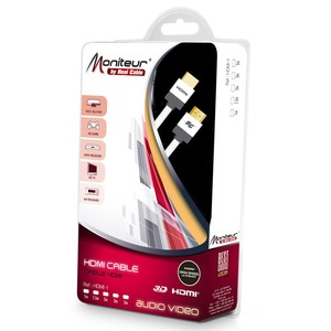 Кабель HDMI - HDMI Real Cable HDMI-1 2.0m