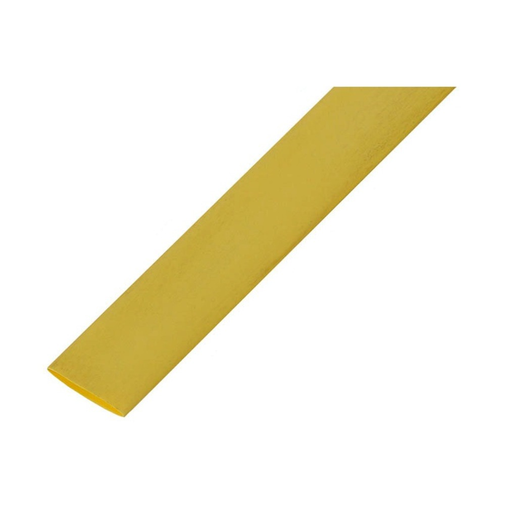 Термоусадка Rexant 20-2502 2.5/1.25мм желтая (1 штука)