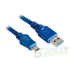 Кабель USB 3.0 Тип A - B mini Greenconnect GC-U3A2109 3.0m