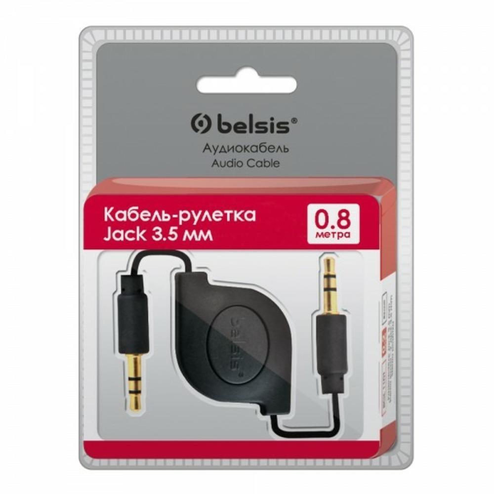 Кабель аудио 1xMini Jack - 1xMini Jack Belsis BGL1179 0.8m