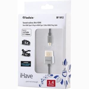Кабель HDMI - mini HDMI Belsis BF1012 1.4m