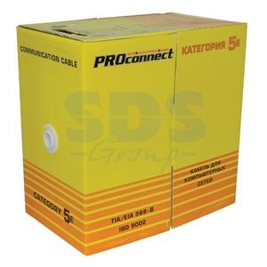 Витая пара в катушке не экранированная PROconnect 01-0045-3 UTP 4PR 24AWG CAT5e OUTDOOR LT (305 метров)