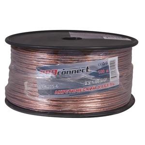 Кабель акустический на катушке PROconnect 01-6205-6 2x1.0 мм2 BLUELINE (100 метров)