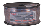 Кабель акустический на катушке PROconnect 01-6201-6 2x0.25 мм2 BLUELINE (100 метров)