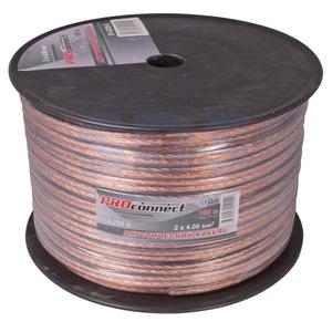 Кабель акустический на катушке PROconnect 01-6209-6 2x4.0 мм2 BLUELINE (100 метров)