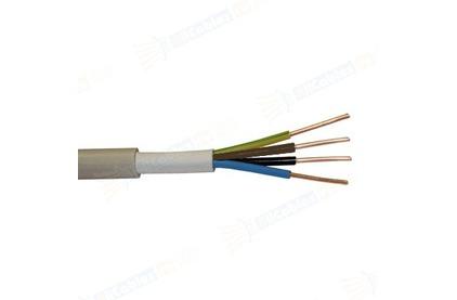 Отрезок акустического кабеля NYM (Арт. 632) 4x1.5 (Nexans) 8.9m