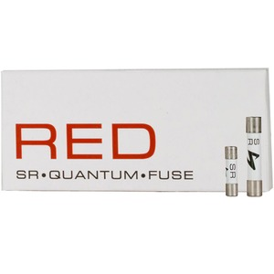 Предохранитель SLOW 20mm Synergistic Research RED Quantum Fuse Slo-Blow 4A (5x20mm)