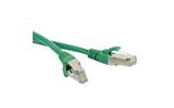Кабель витая пара патч-корд Hyperline PC-LPM-UTP-RJ45-RJ45-C6-1M-GN 1.0m